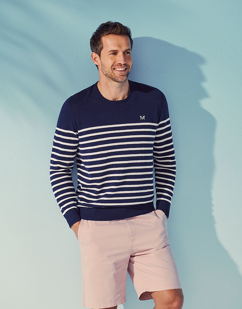 Breton Stripe Nautical Jumper