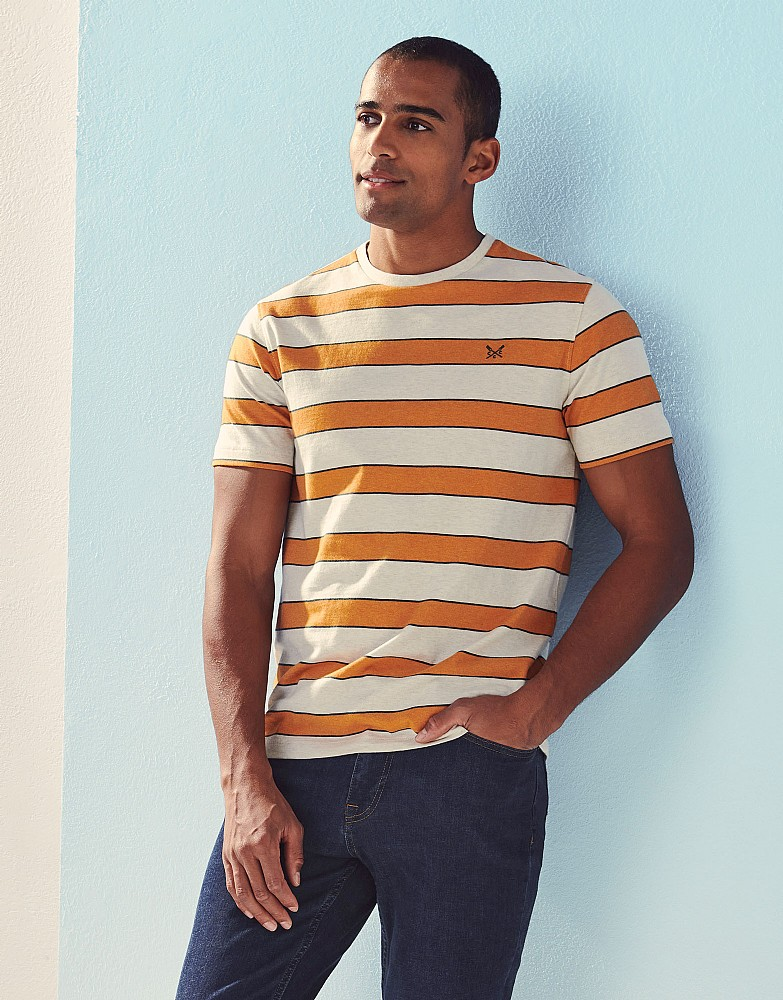 Madeley Marl Stripe T-Shirt