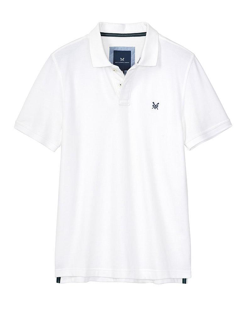 Classic Pique Polo - White