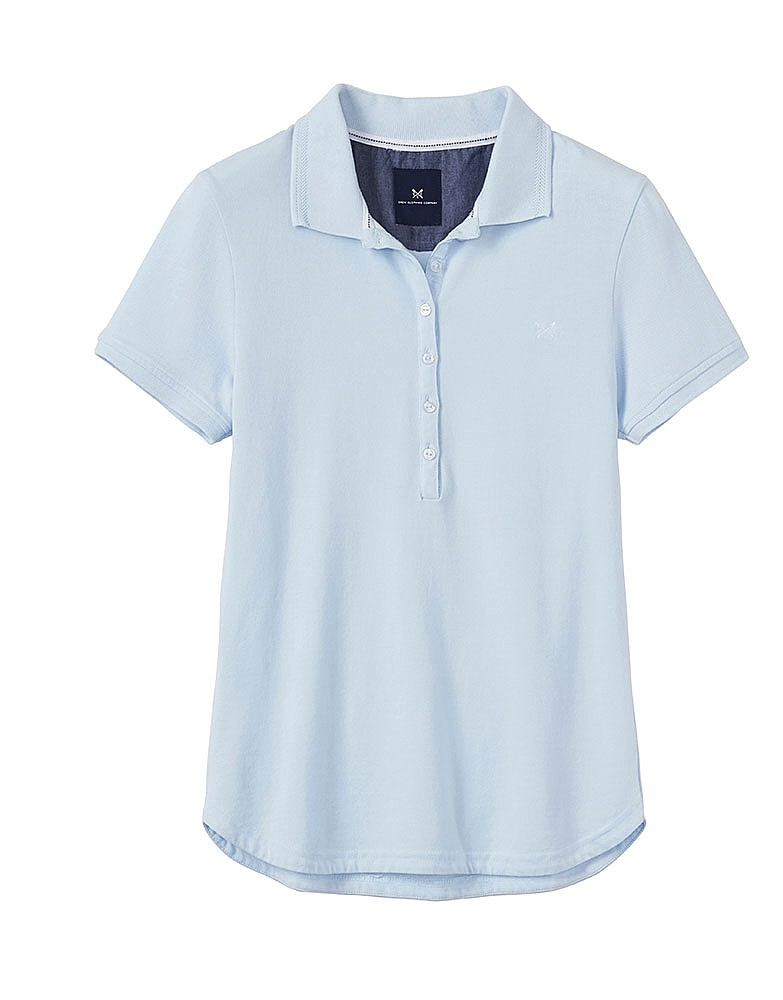 Heritage Polo - Mint Blue