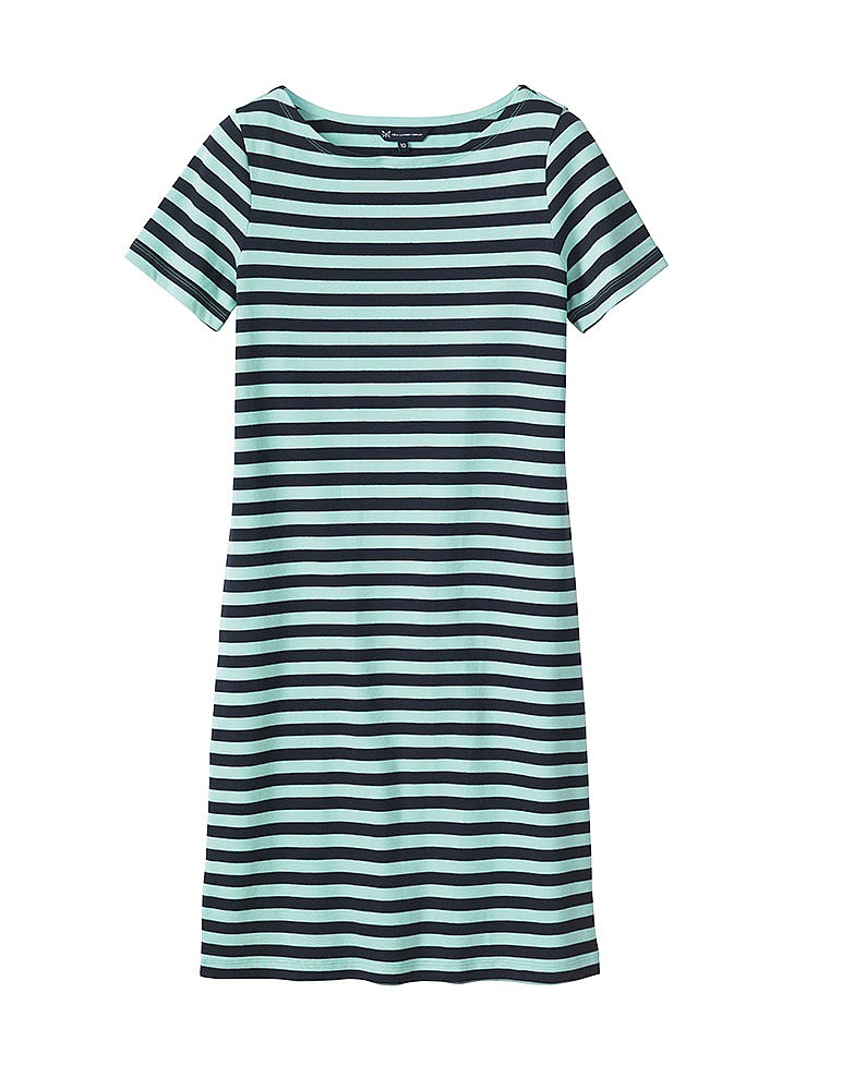 Short Sleeve Ultimate Breton Dress