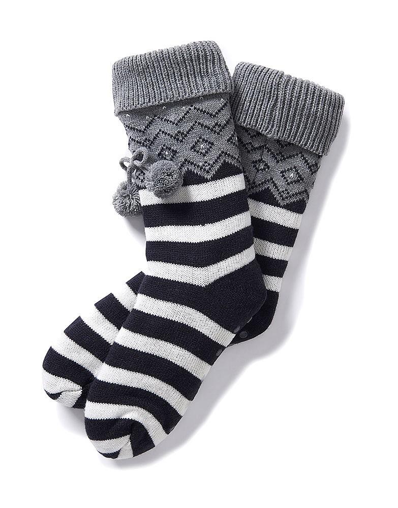 Fairisle Cosy Socks