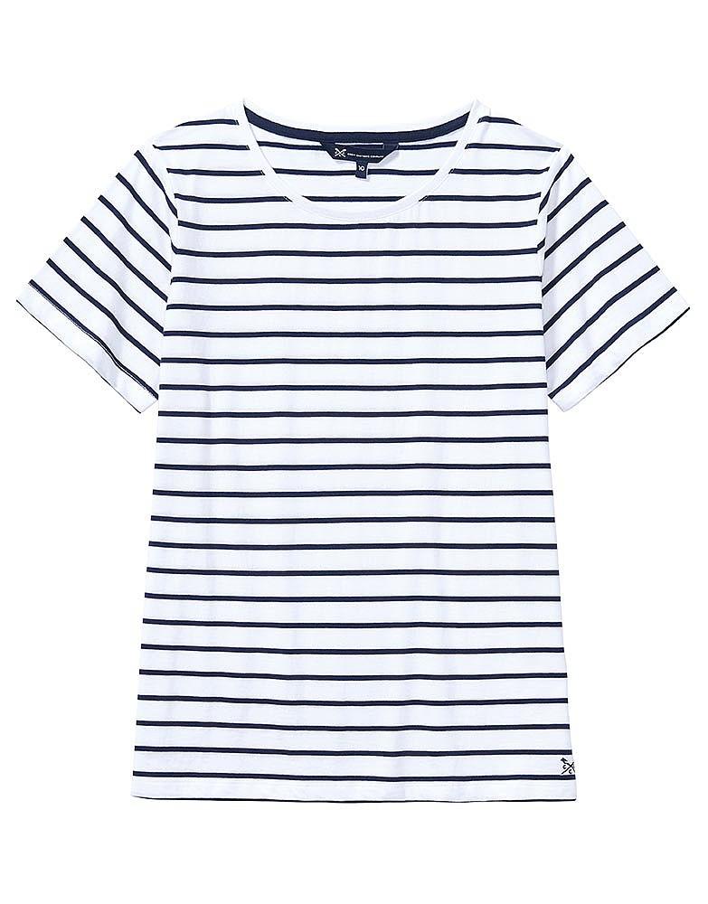 Breton T-Shirt In White