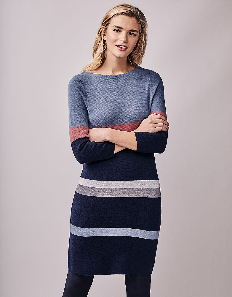Knitted Milano Stripe Dress