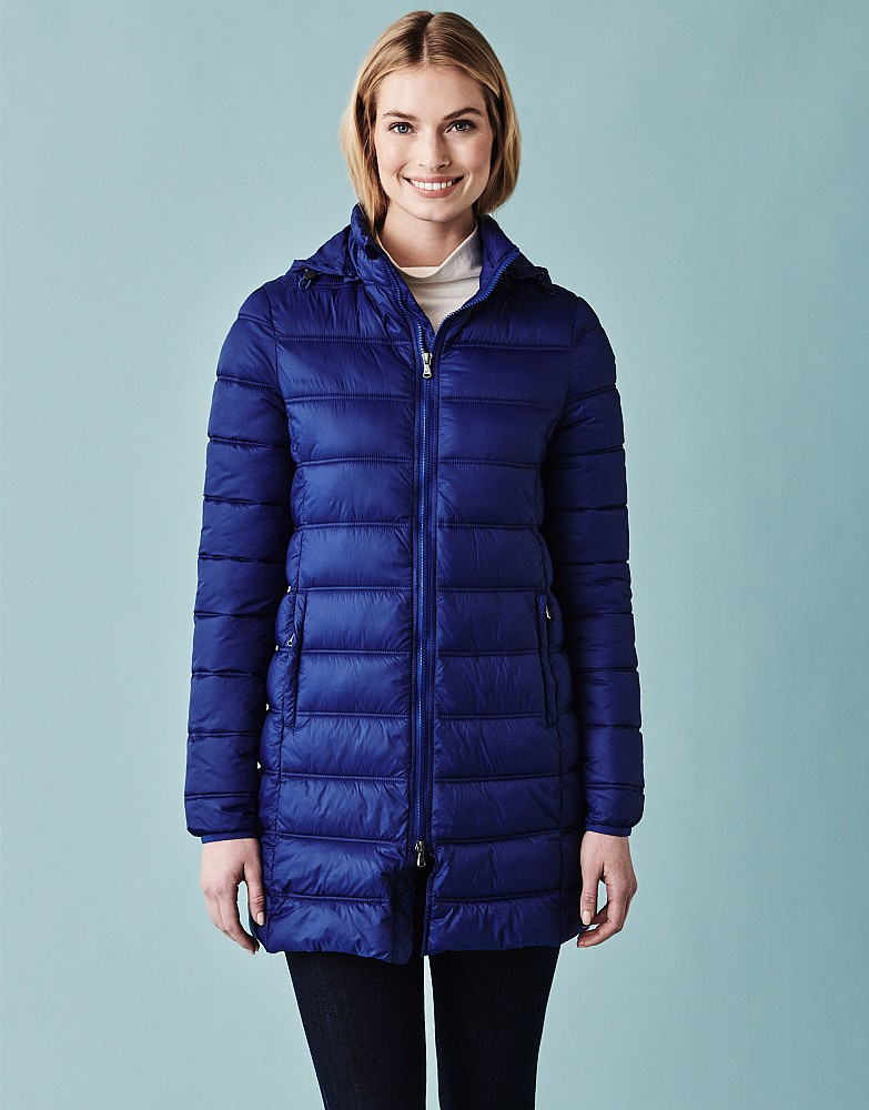 Women's Quilted Lightweight Coat from Crew Clothing Company