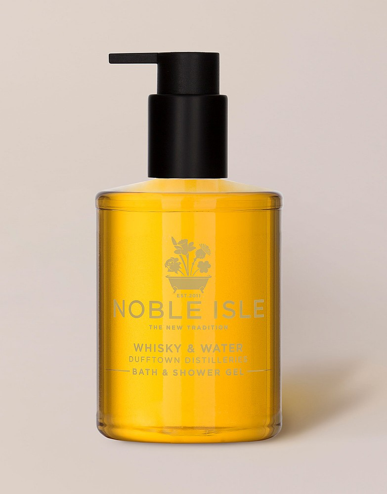 Noble Isle Whisky Bath and Shower Gel