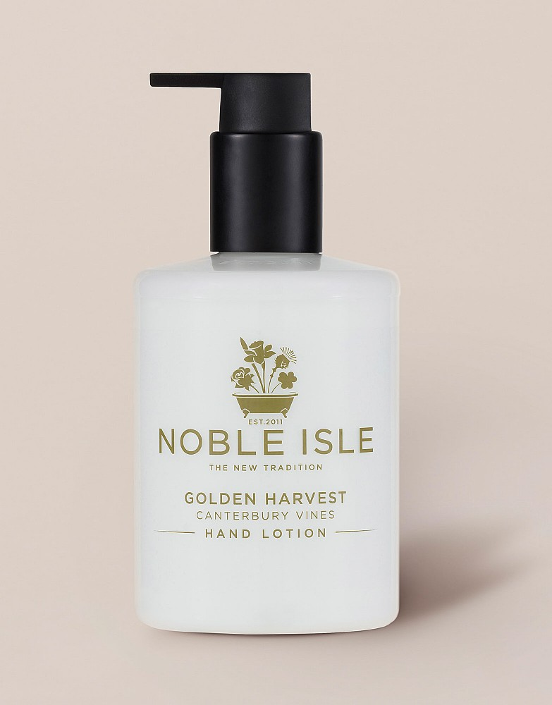 Noble Isle Golden Harvest Hand Lotion