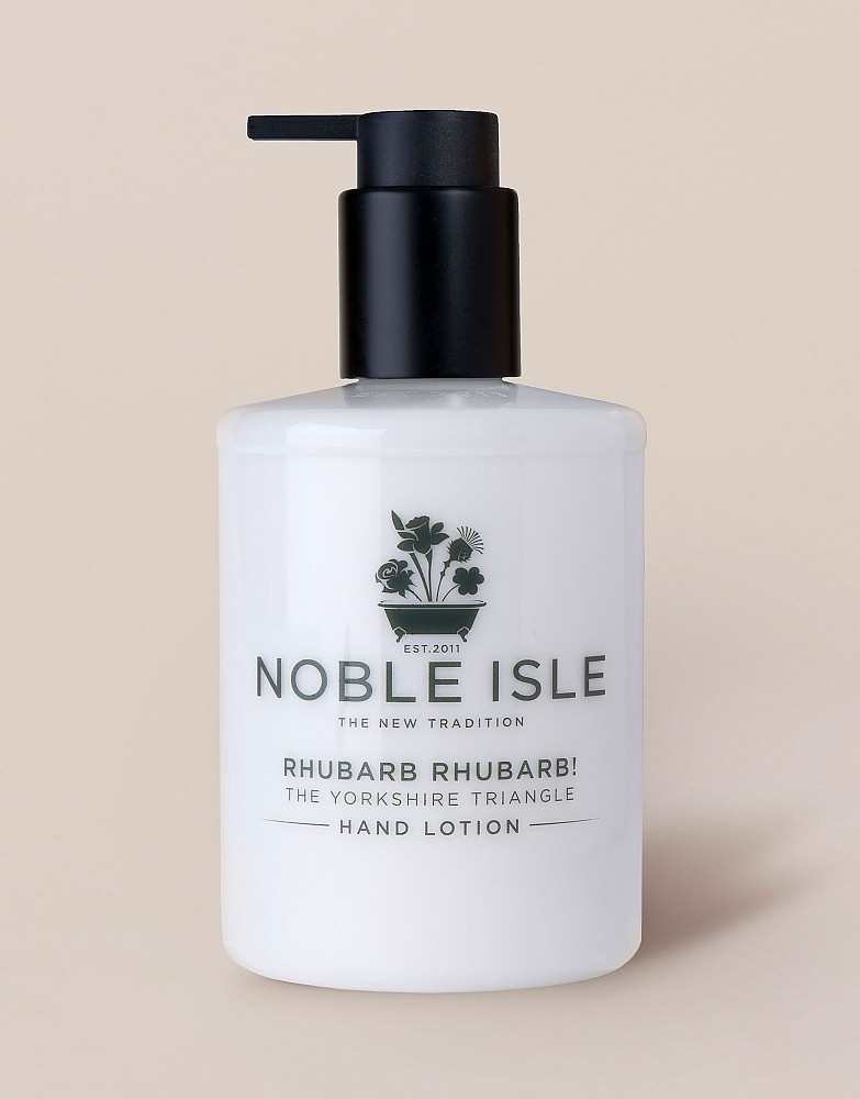 Noble Isle Rhubarb Hand Lotion