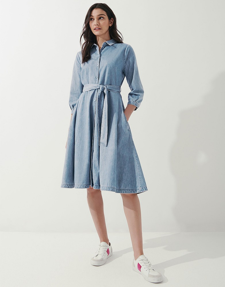 Helene Chambray Dress