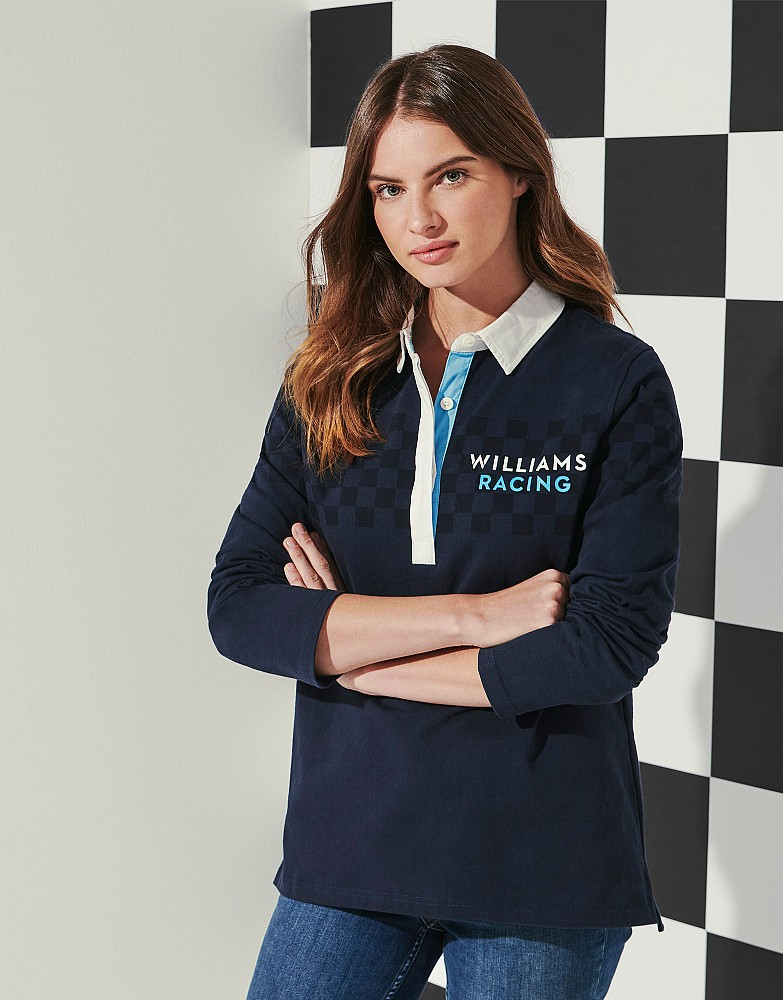 Williams Racing Chequered Flag Rugby Shirt