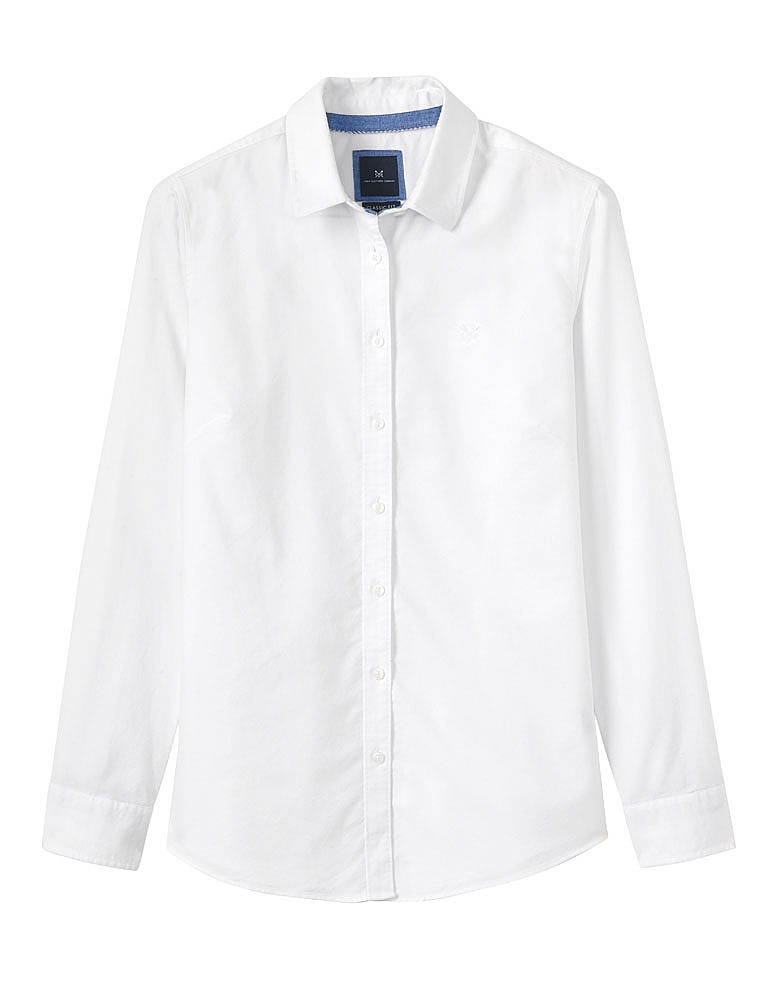 665413210ec Women s Heritage Classic Oxford Shirt in Classic Blue from Crew Clothing