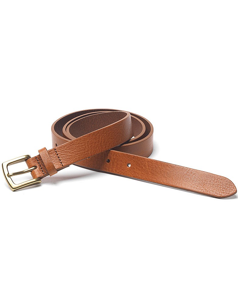 61684e124d76 Women s Classic Leather Belt in Tan from Crew Clothing