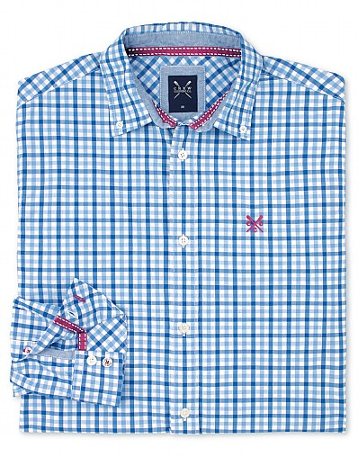 Fine Pinpoint Check Shirt