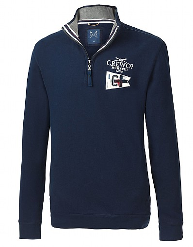 Seaford Half Zip Sweat