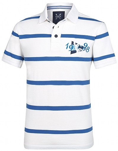 Exmouth Stripe Polo