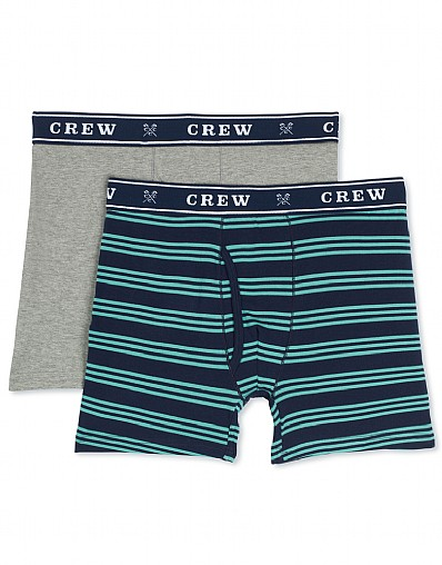 Triple Stripe/Plain Boxer