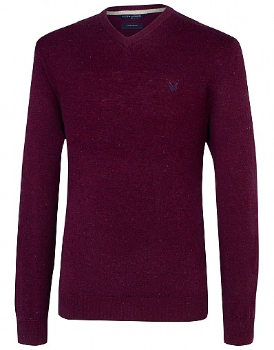 Richmond Merino V-neck Jumper