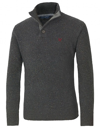 Highland Half Button Jumper