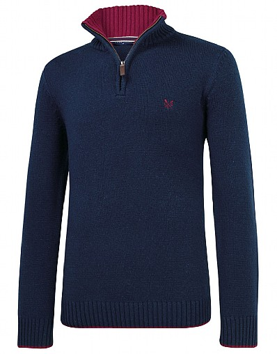 Oxford Half Zip Jumper