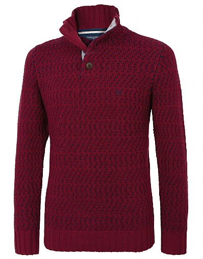Whistley Half Button Jumper