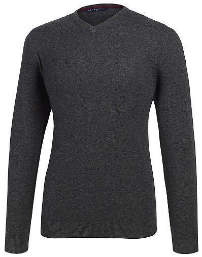 Ibstone V-neck Jumper
