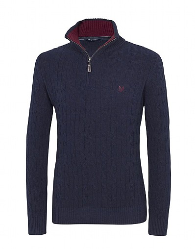 Bury Cable Half Zip