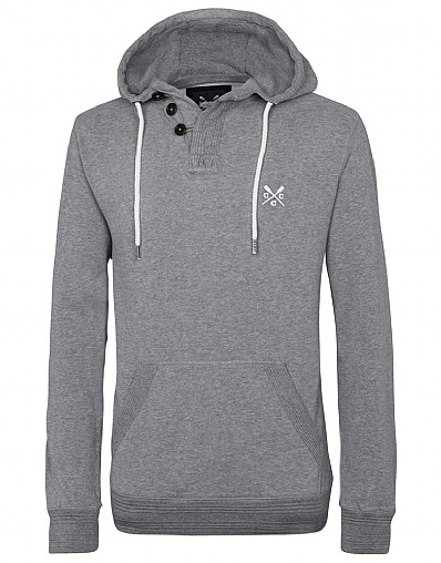 Hayes Half Button Hoody