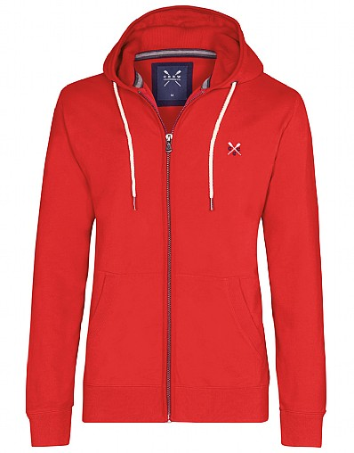 Upton Waffle Zip Through Hoody