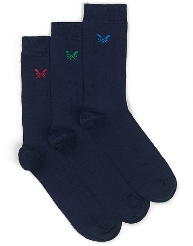 3 Pack - Plain Bamboo Sock