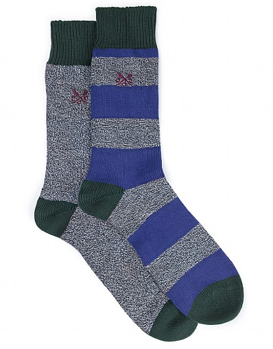 2 Pack - Stripe Twist Sock