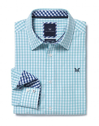 Crew Classic Fit Gingham Shirt