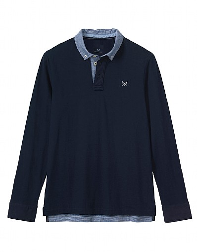 Burley Long Sleeve Polo