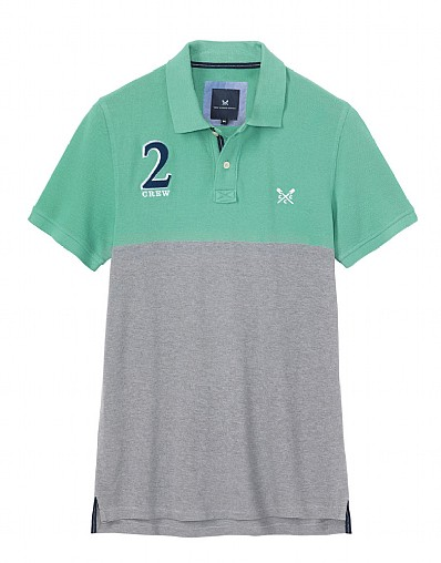 Crew Numbers Pique Polo