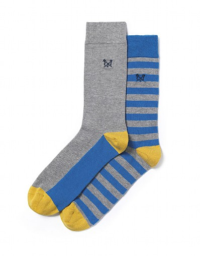 2 Pack Thin Stripe Socks