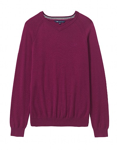 Kentmere Merino V-Neck
