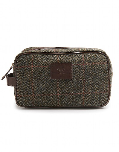 Denton Tweed Wash Bag