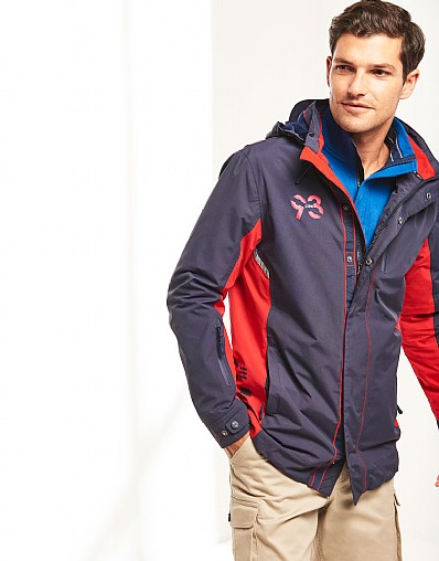 Crew Club Mens Spray Jacket