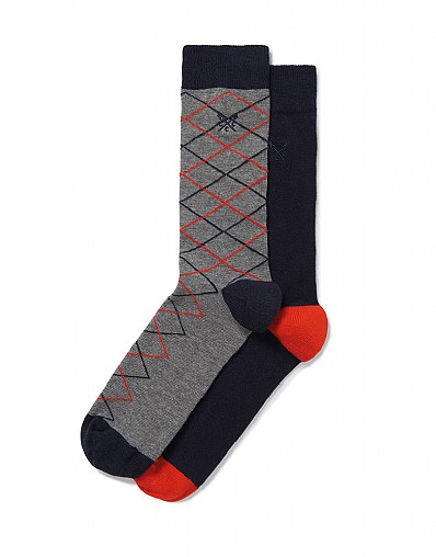 Stockists of 2 Pack Argyle Socks