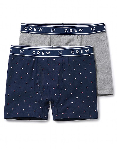 Stockists of 2 Pack Flag Plain Boxers