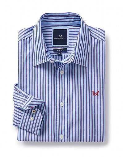 Weybourne Slim Fit Shirt in Blue