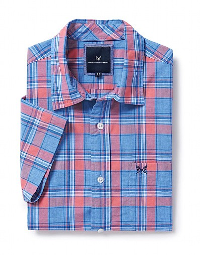 Hunstanton Short Sleeve Check Shirt