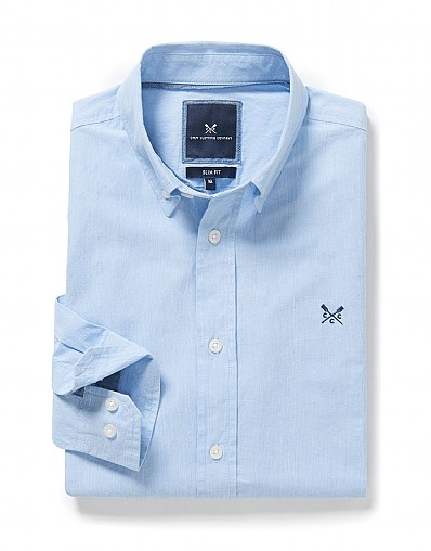 Southbourne Slim Fit Shirt in Sky Blue