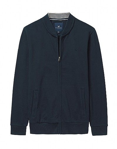 Seaham Zip Through Sweatshirt