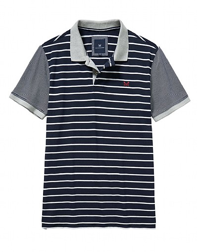 Cawsand Jersey Mix Polo