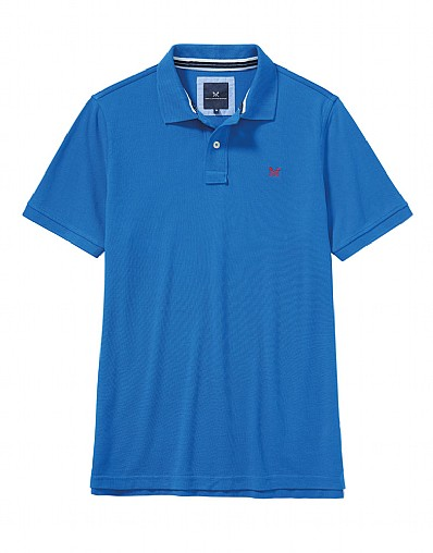 Classic Pique Polo Shirt in Lapis Blue