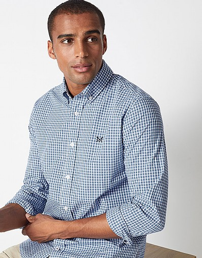 Sandbanks Gingham Slim Fit Shirt
