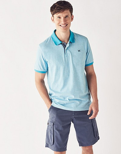 Feeder Stripe Jersey Polo Shirt