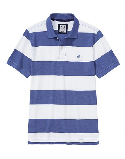 Crew Stripe Polo Shirt