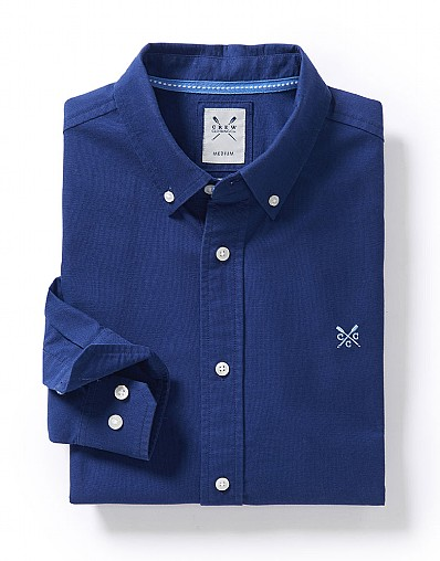 OXFORD SLIM FIT SHIRT IN NAVY