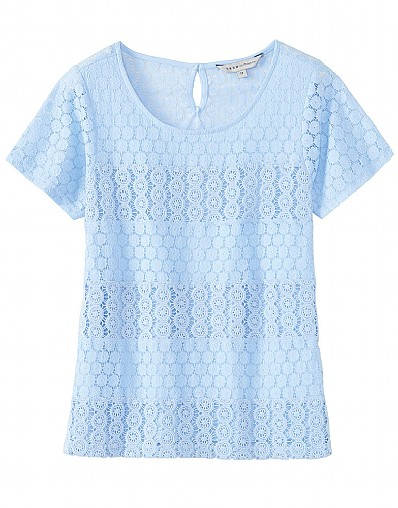Daisy Woven Broderie Top